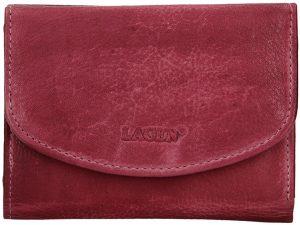Lagen Dámská kožená peněženka LG-2522/D Plum