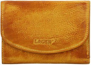 Lagen Dámská kožená peněženka LG-2522/D Yellow