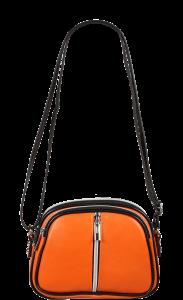 Malá crossbody kabelka Icaro Arancione