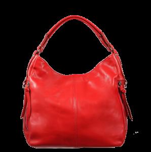 Italské červené kabelky Gemma Rossa