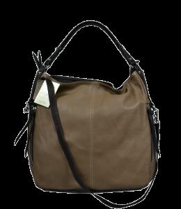 Okrová kožená kabelka Gemma Ocra Marrone