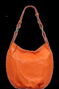 Kabelky z pravé kůže Lagia Arancione Chiaro