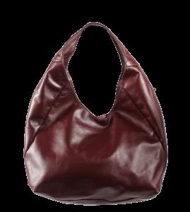 Fialová dámská kabelka přes rameno Tita Porposa
