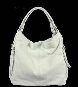 Kožené kabelky bílé Gemma Bianca