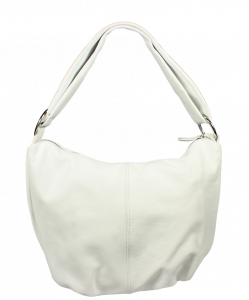 Bílá kožená kabelka Gondola Bianca