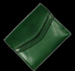 Zelená kožená peněženka 7021 Verde Scuro