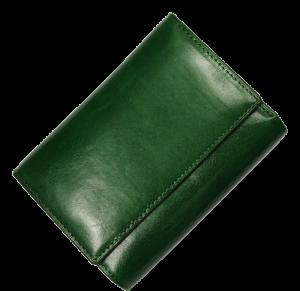 Zelená peněženka E030 Verde Scuro