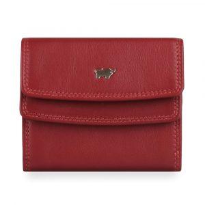 Braun Büffel Dámská kožená peněženka Golf 2.0 90115-051 – červená