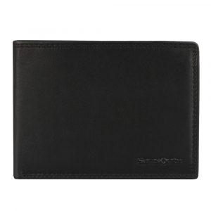 Samsonite Pánská kožená peněženka Attack SLG 60U-207 černá