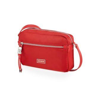 Samsonite Dámská crossbody kabelka Karissa Pouch+ 34N – červená