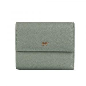 Braun Büffel Dámská kožená peněženka Asti 50444 – světle zelená