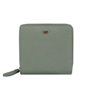 Braun Büffel Dámská kožená peněženka Asti 50450 – světle zelená