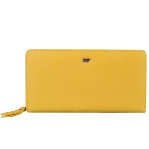 Braun Büffel Dámská kožená peněženka Miami 50555 – žlutá