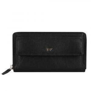 Braun Büffel Dámská kožená peněženka 90480-051 – černá