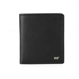 Braun Büffel Pánská kožená peněženka Golf 2.0 90441-051 – černá