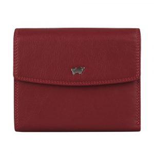 Braun Büffel Dámská kožená peněženka Golf 2.0 90444-051 – červená