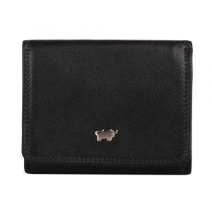 Braun Büffel Dámská kožená peněženka Golf 2.0 90112-051 – černá