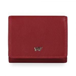 Braun Büffel Dámská kožená peněženka Golf 2.0 90112-051 – červená