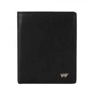 Braun Büffel Pánská kožená peněženka Golf 2.0 90442-051 – černá