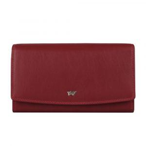Braun Büffel Dámská kožená peněženka Golf 2.0 90455-051 – červená