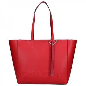 Dámská kabelka Calvin Klein Kamila – červená
