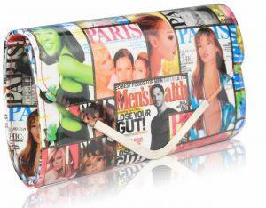 Psaníčko Fashion Only Magazine – bílé bílá – bílá