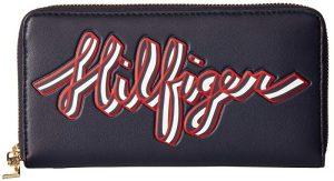 Tommy Hilfiger Dámská peněženka Women`s Tasha Large Zip Wallet Navy