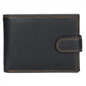 Pánská kožená peněženka SendiDesign Tarras – černá