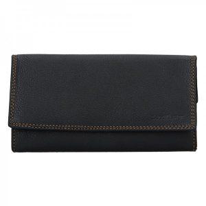 Dámská kožená peněženka SendiDesign Olga – černá