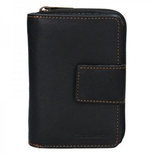 Dámská kožená peněženka SendiDesign Mona – černá