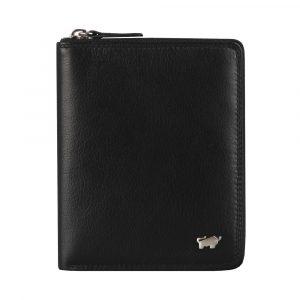 Braun Büffel Pánská kožená peněženka Golf 2.0 90452-051 – černá