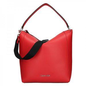 Dámská kabelka Calvin Klein Silva – červená