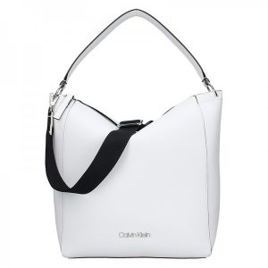 Dámská kabelka Calvin Klein Silva – bílá