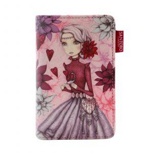 Santoro fialová peněženka Mirabelle Secrets