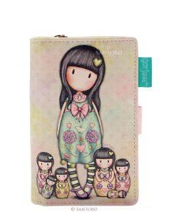 Santoro barevná peněženka Gorjuss Seven Sisters