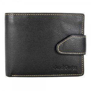 Pánská kožená peněženka SendiDesign 7001 – černá