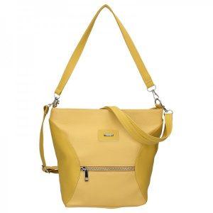 931ae55ffe Dámská crossbody kabelka SendiDesign Laura – žlutá