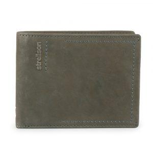 Strellson Pánská kožená peněženka Norton 4010002439 – šedá