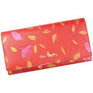 Dámská kožená peněženka Pierre Cardin Plant – červená