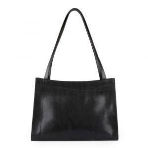 83a4ce4c2d Elega Dámská kožená kabelka přes rameno Megan 67525 – černá