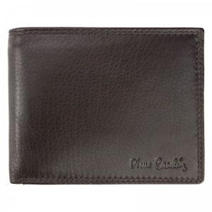 Pánská kožená peněženka Pierre Cardin Didier – hnědá