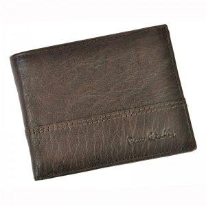 Pánská kožená peněženka Pierre Cardin Francois – hnědá