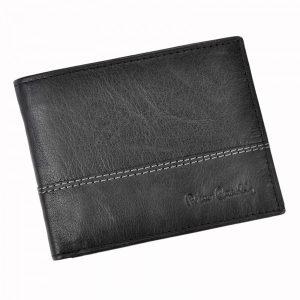 Pánská kožená peněženka Pierre Cardin Francois – černá