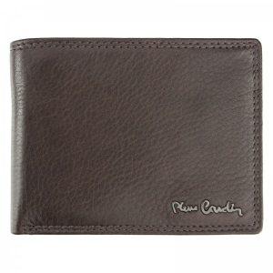 Pánská kožená peněženka Pierre Cardin Nicolas – hnědá