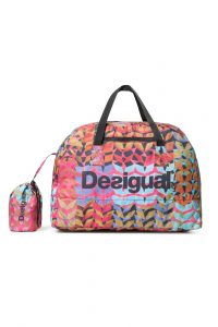Desigual barevná sportovní taška Bols Packable Bag Arty