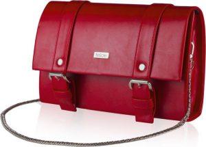Červené psaníčko Felice Clutch (F20 RED MAT) Velikost: univerzální