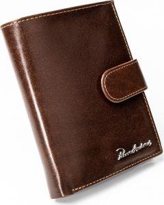 PIERRE ANDREUS pánská hnědá peněženka RFID PA-D1072L-VT BROWN Velikost: univerzální