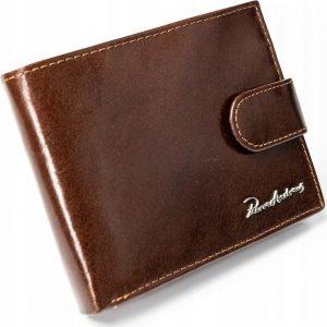 PIERRE ANDREUS pánská hnědá peněženka RFID PA-992L-VT BROWN Velikost: univerzální