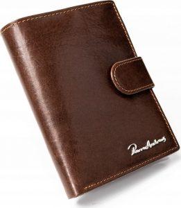 PIERRE ANDREUS pánská hnědá peněženka RFID PA-N4L-VT BROWN Velikost: univerzální