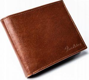 PIERRE ANDREUS kožená pánská peněženka N992-VT BROWN Velikost: univerzální